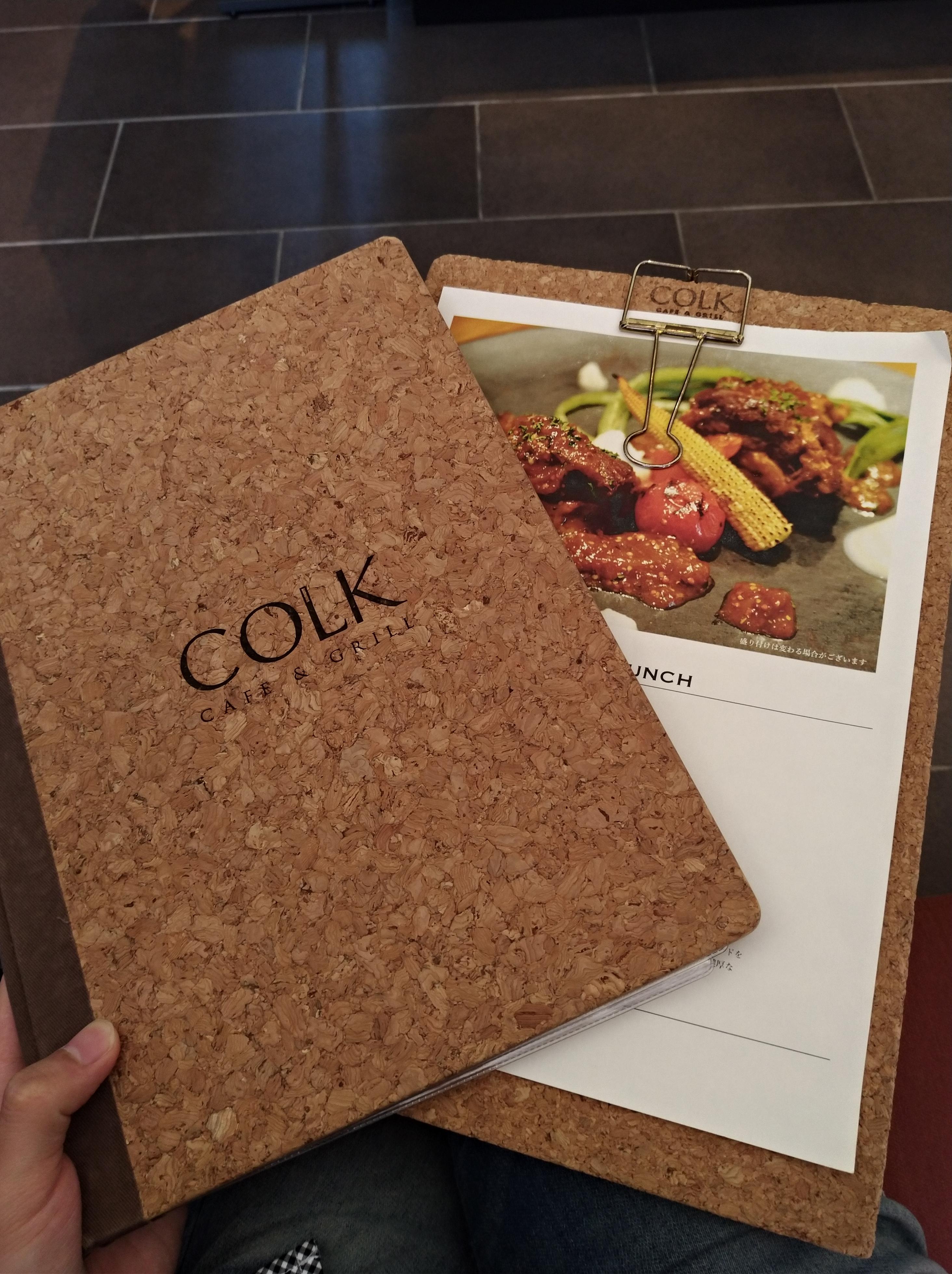 COLK(コルク)のメニュー