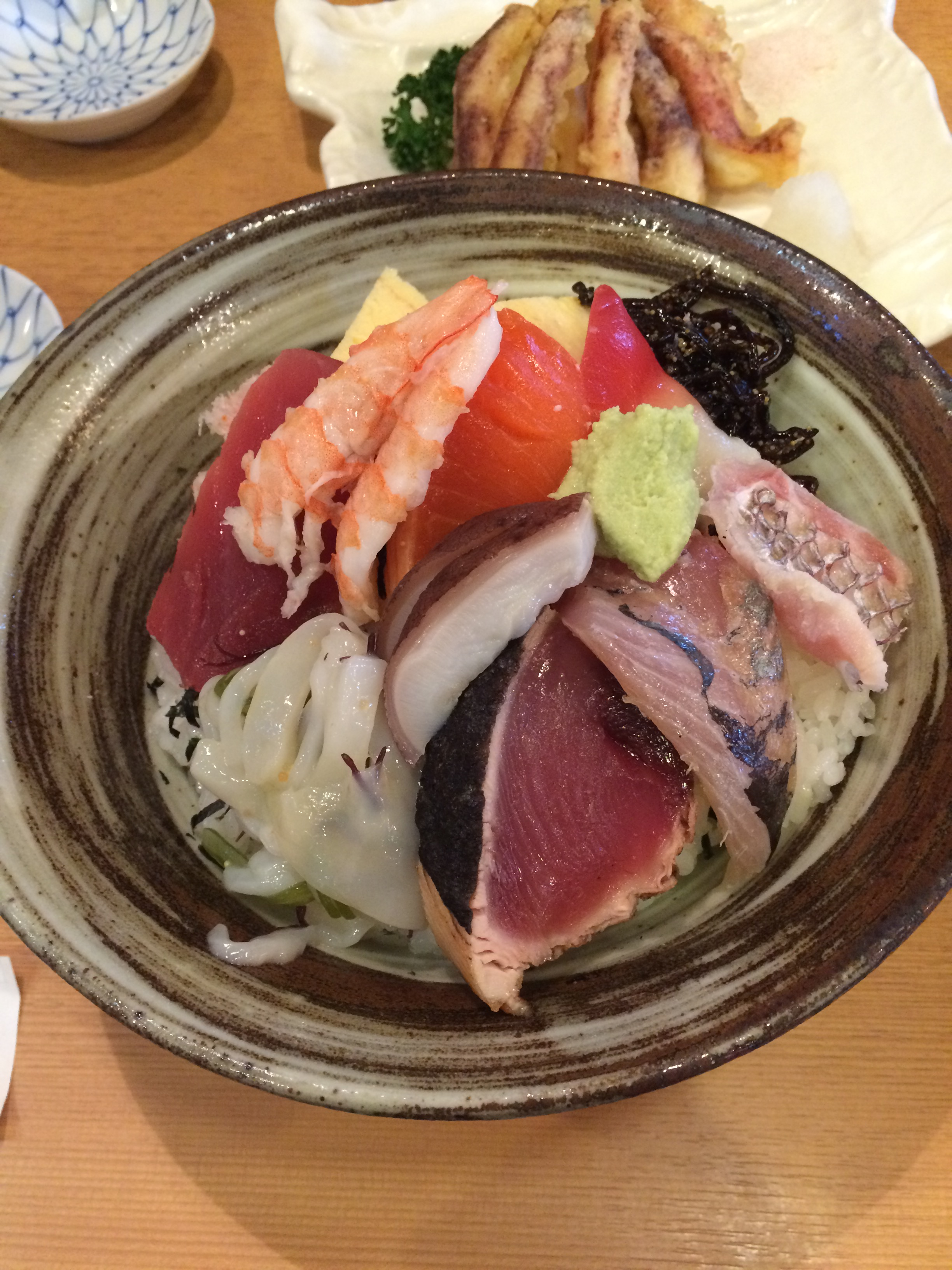 茨城県庁 吾妻寿司 海鮮丼 大盛り