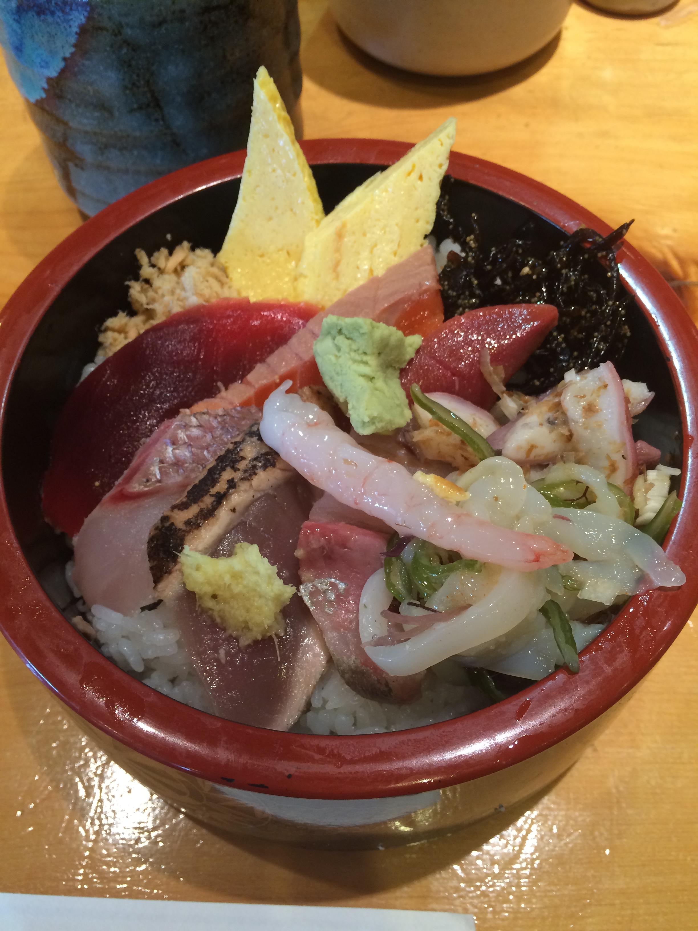 茨城県庁 吾妻寿司 海鮮丼