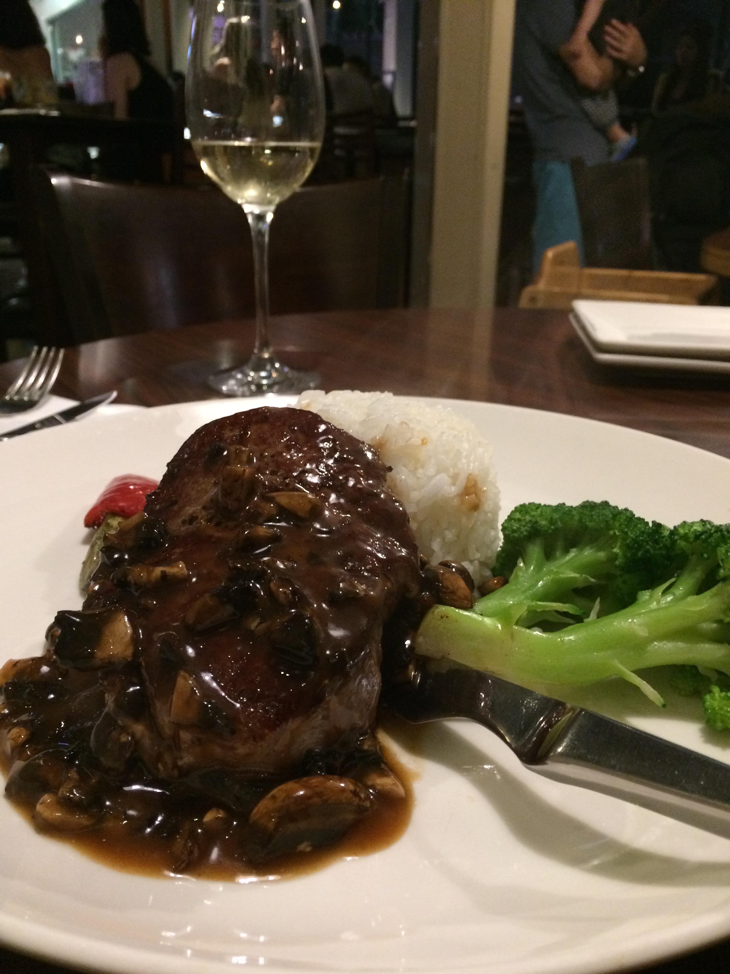 グアム テーブル35 味噌ステーキ